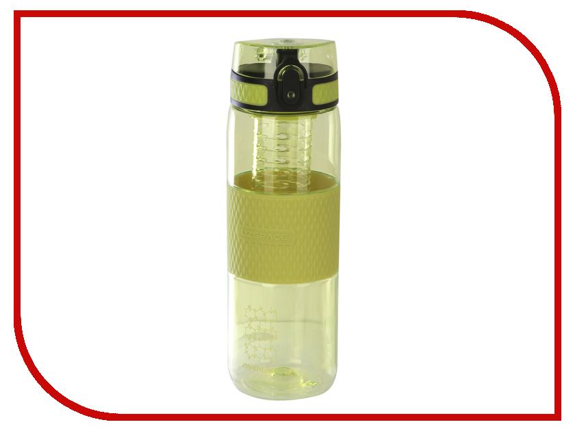 Бутылка Uzspace 5061 700ml Green bols peach 700ml