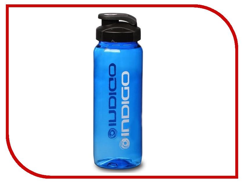 Бутылка Indigo Vuoksa IN007 800ml Blue бутылка для воды mizu m8 800ml st blue light blue loop cap