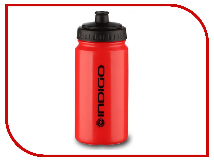 Бутылка Indigo Orsha IN014 600ml Red ryder n1005 outdoor dual layer stainless steel abs water bottle red 600ml
