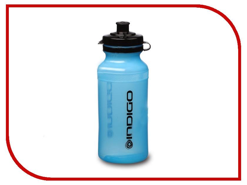 Бутылка Indigo Nero IN013 600ml Light Blue бутылка для воды mizu m8 800ml st blue light blue loop cap