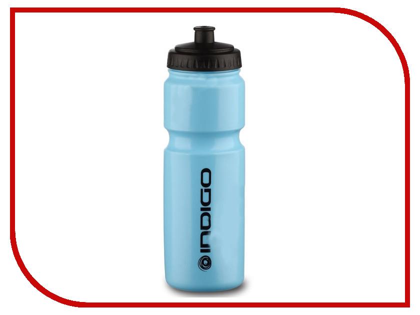 Бутылка Indigo Baikal IN011 800ml Blue-Black бутылка для воды mizu m8 800ml st blue light blue loop cap