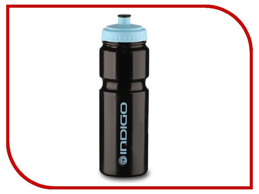 Бутылка Indigo Baikal IN011 800ml Black-Blue бутылка для воды mizu m8 800ml st blue light blue loop cap
