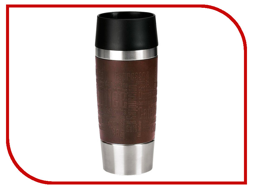 Термокружка EMSA Travel Mug (0,36 л) Brown 513360 цена