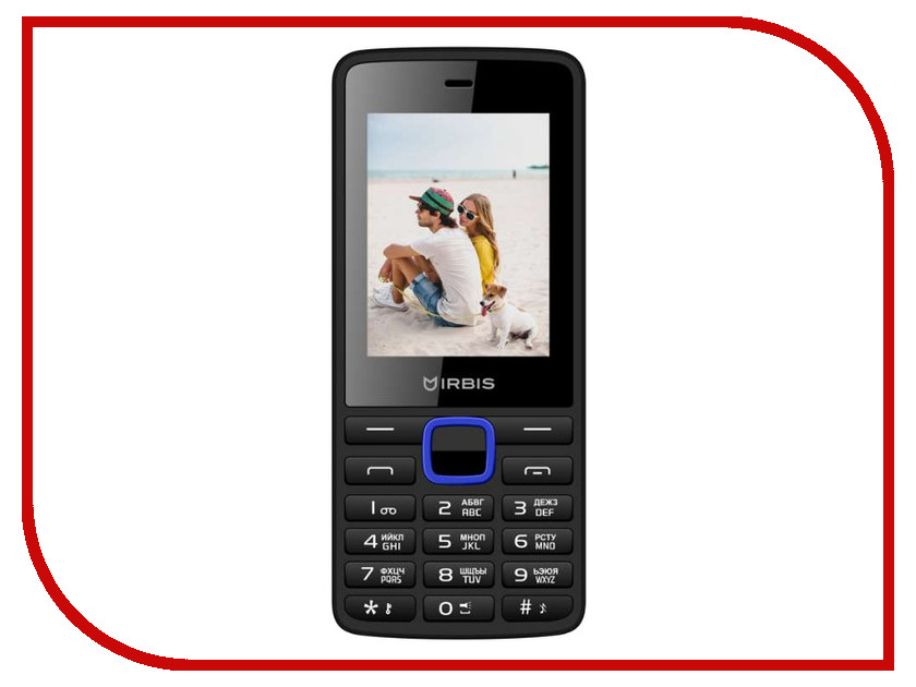 Сотовый телефон Irbis SF19X Black-Blue сотовый телефон irbis sp517 black