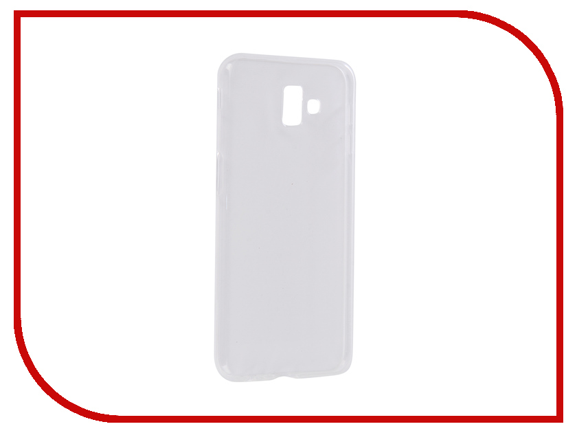 Аксессуар Чехол для Samsung Galaxy J6 Plus J610F 2018 Zibelino Ultra Thin Case Transparent ZUTC-SAM-J610F-WH аксессуар чехол для samsung galaxy j1 2016 j120 zibelino ultra thin case white zutc sam j1 2016 wh