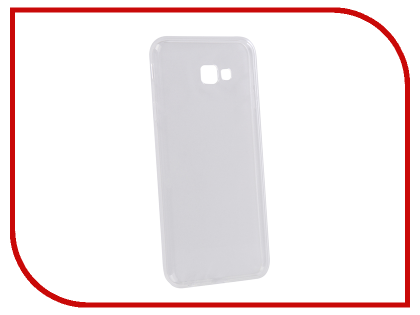 Аксессуар Чехол для Samsung Galaxy J4 Plus J415F 2018 Zibelino Ultra Thin Case Transparent ZUTC-SAM-J415F-WH аксессуар чехол для samsung a8 2018 a530 zibelino clear view blue zcv sam a530 blu