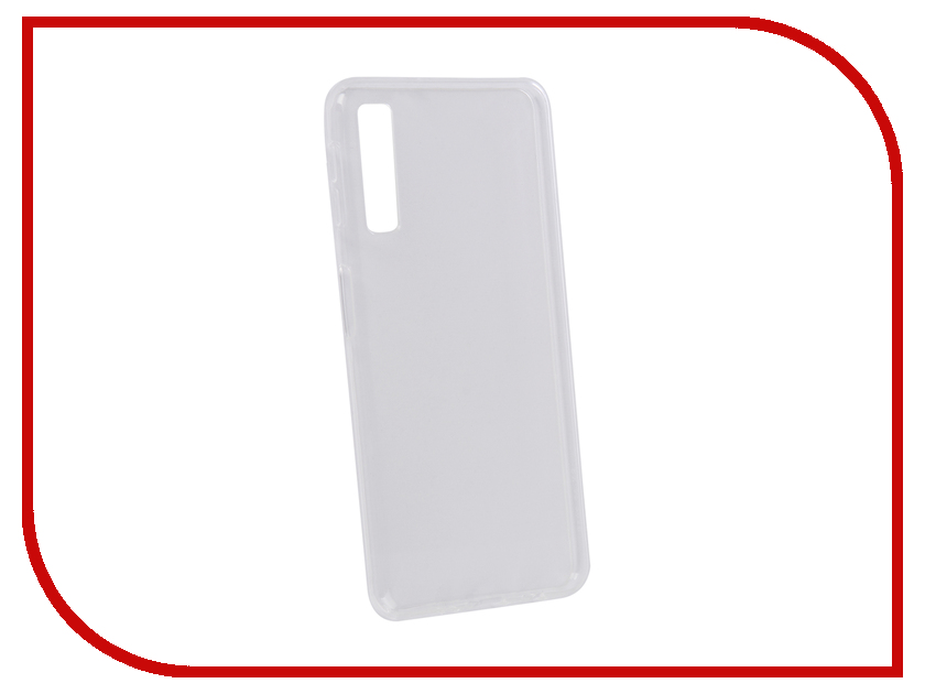 Аксессуар Чехол для Samsung Galaxy A7 A750 2018 Zibelino Ultra Thin Case Transparent ZUTC-SAM-A750-WHT аксессуар чехол для samsung galaxy j1 2016 j120 zibelino ultra thin case white zutc sam j1 2016 wh