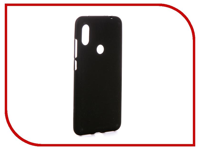 Аксессуар Чехол для Xiaomi Redmi Note 6 Zibelino Soft Matte Black ZSM-XIA-RDM-NOT6-BLK аксессуар чехол для xiaomi redmi 5 plus zibelino book black zb xia rdm 5pl blk