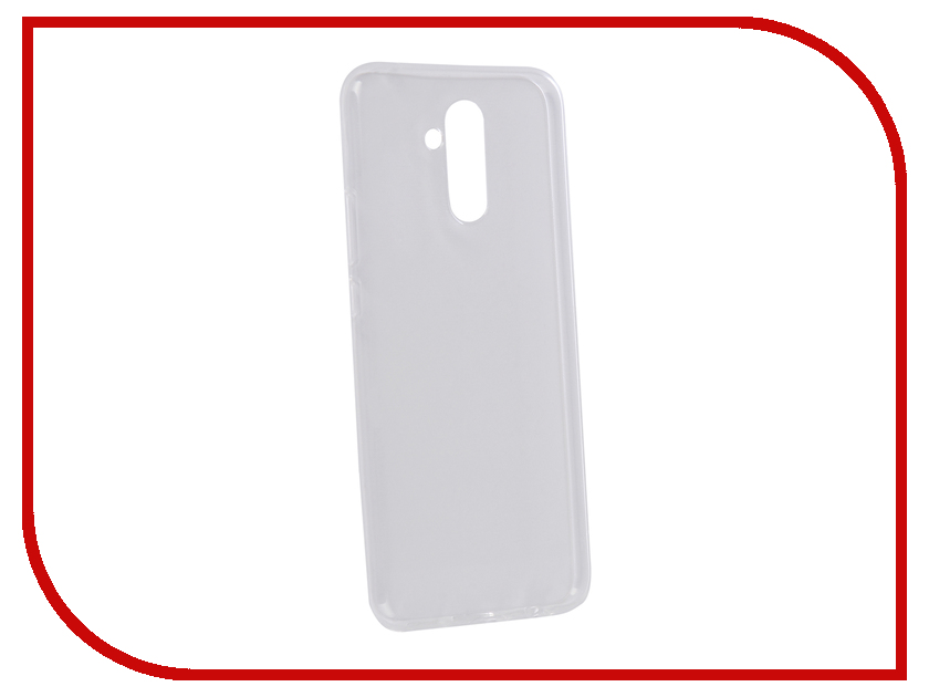 Аксессуар Чехол для Huawei Mate 20 Lite Zibelino Ultra Thin Case Transparent ZUTC-HUA-MAT20LT-WHT moskii brand ultra thin pc shield case cover for huawei mate7