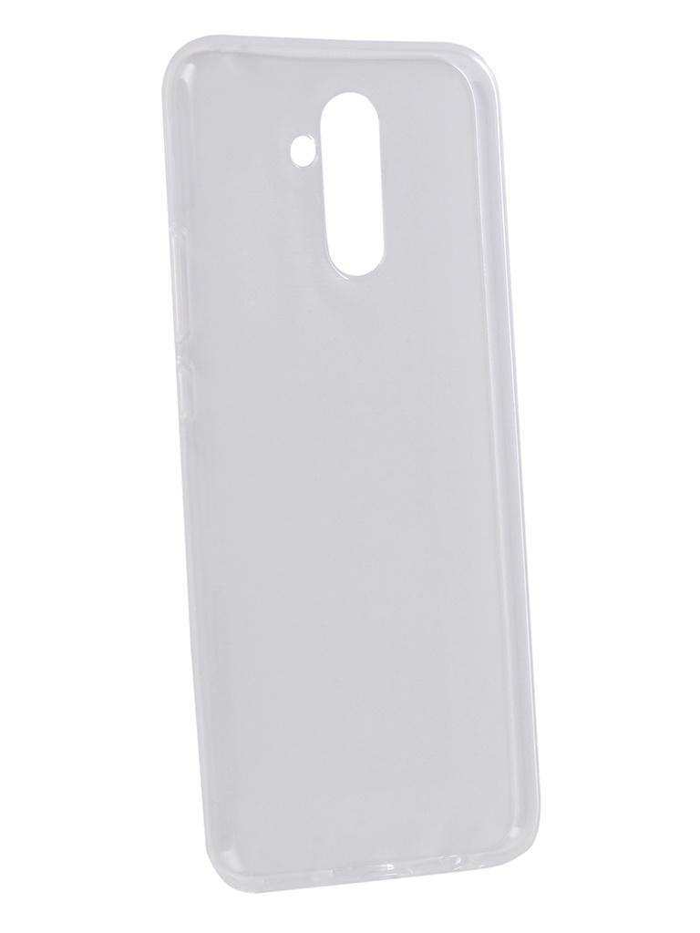 Аксессуар Чехол Zibelino для Huawei Mate 20 Lite Ultra Thin Case Transparent ZUTC-HUA-MAT20LT-WHT аксессуар чехол zibelino для xiaomi mi8 lite ultra thin case transparent zutc xia mi8lt wht