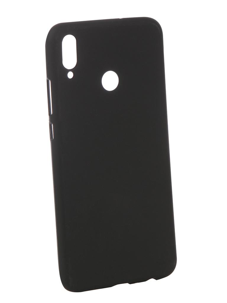 Аксессуар Чехол Zibelino для Honor 8X Soft Matte Black ZSM-HUA-8X-BLK цена