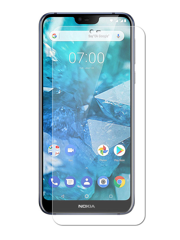 Аксессуар Защитное стекло Zibelino для Nokia 7.1 2018 TG ZTG-NOK-7.1