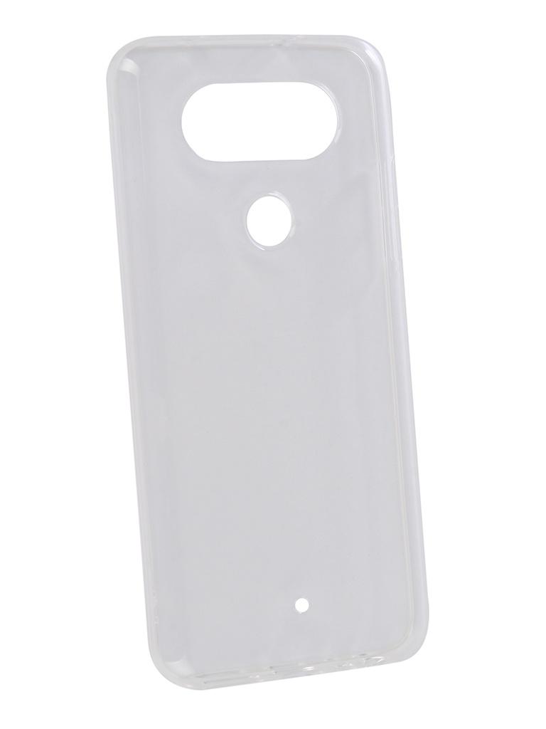 Аксессуар Чехол для LG Q8 2018 Zibelino Ultra Thin Case Transparent ZUTC-LG-Q8-WHT