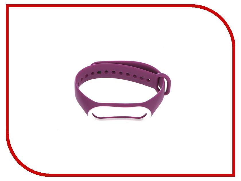 Aксессуар Ремешок Gurdini Silicone для Xiaomi Mi Band 3 Purple 907358