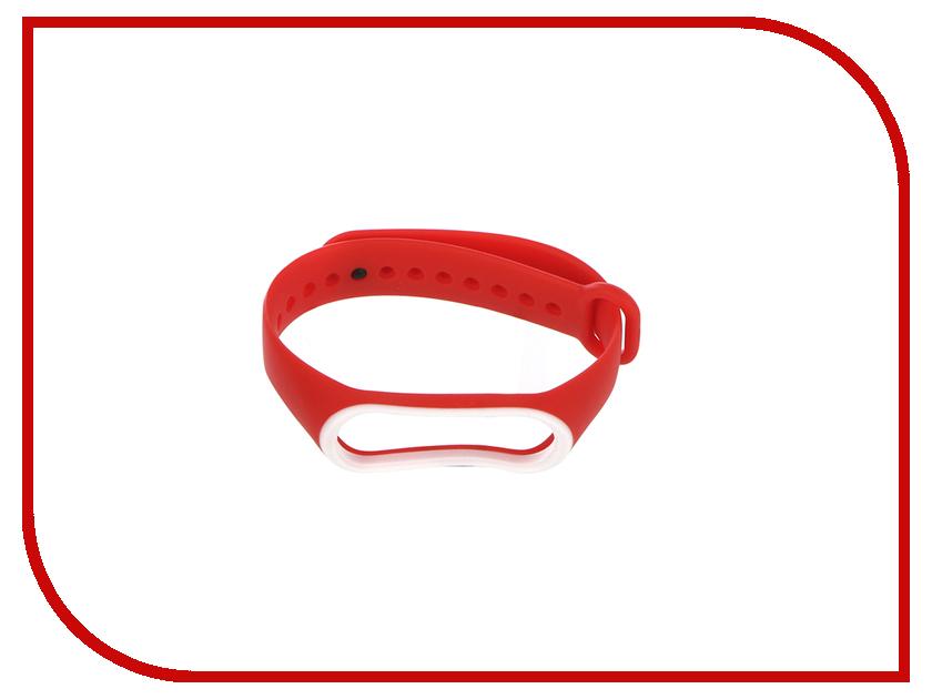 Aксессуар Ремешок Gurdini Silicone для Xiaomi Mi Band 3 Red 907357 silicone band red led digital wrist watch blue 1 x cr2032