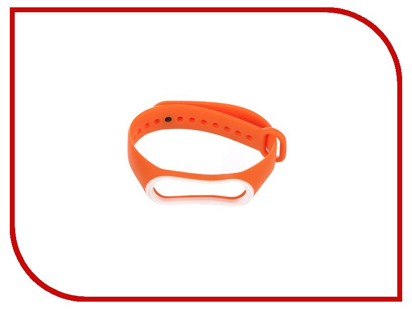 Aксессуар Ремешок Gurdini Silicone для Xiaomi Mi Band 3 Orange 907353 aксессуар ремешок xiaomi mi band 3 orange