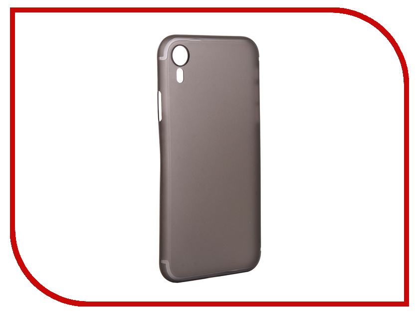 Аксессуар Чехол для APPLE iPhone XR Gurdini Ultra Twin 0.1mm Grey 907317 цена