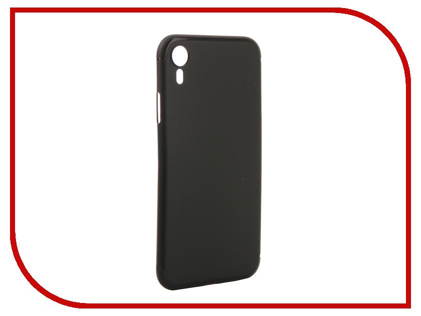 Аксессуар Чехол для APPLE iPhone XR Gurdini Ultra Twin 0.1m Black 907315 цена