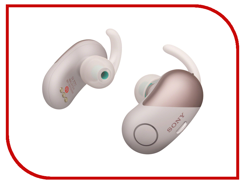 Sony WF-SP700N Pink sony wf sp700n white