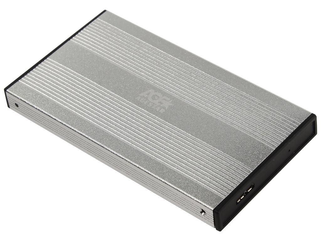 Внешний корпус AgeStar 3UB2S Silver