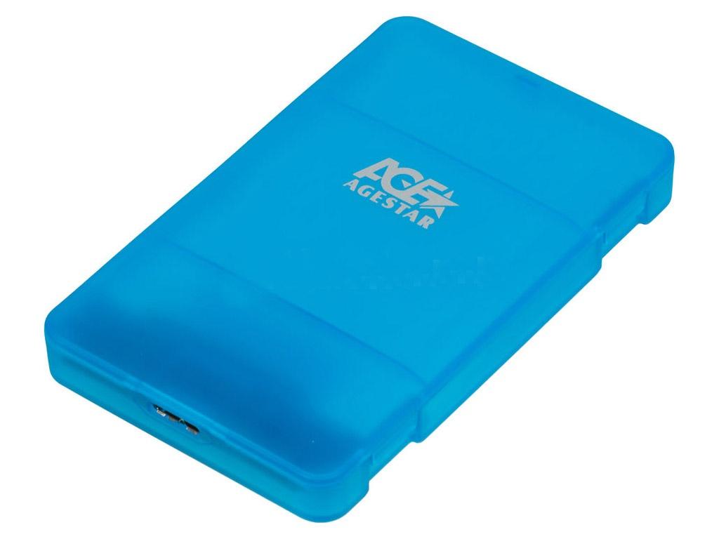 Внешний корпус AgeStar 3UBCP3 Blue