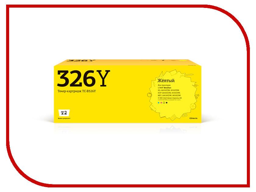 Фото - Картридж T2 TC-B326Y Yellow для Brother HL-L8250CDN/8350CDW/DCP-L8400CDN/8450CDW/MFC-L8650CDW/8850CDW t2 ic b1240y yellow картридж для brother dcp j525 mfc j430 j825 j5910 j6510 j6910