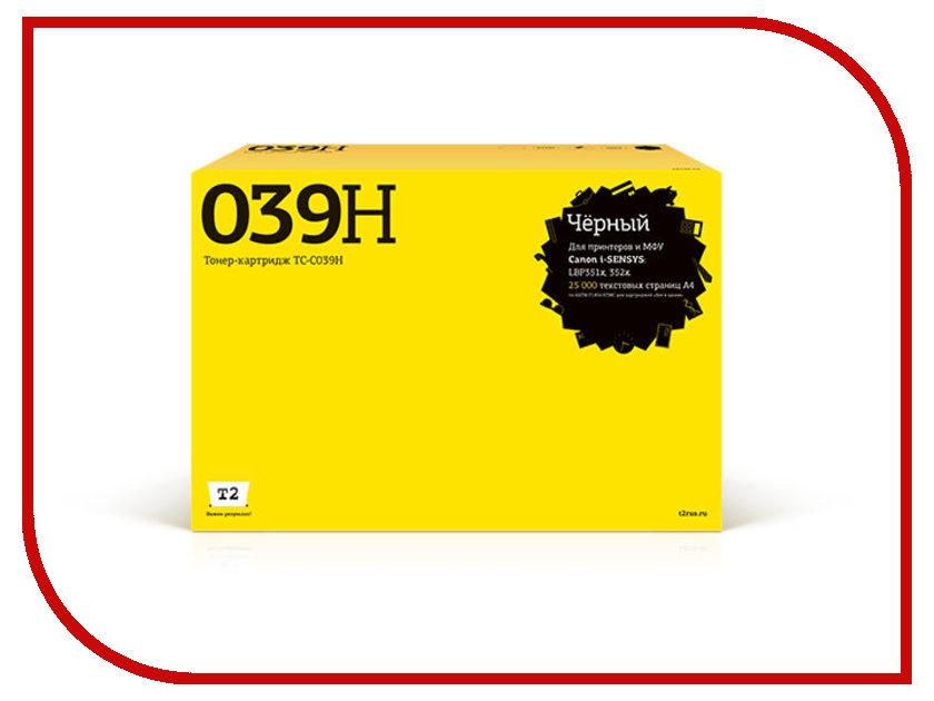 Картридж T2 TC-C039H Black для Canon i-Sensys LBP351x/352x с чипом картридж t2 ar 016t lt tc sh016