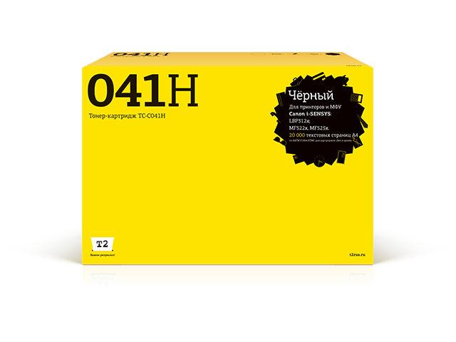 Картридж T2 TC-C041H Black для Canon i-Sensys LBP312x/MF522x/MF525x с чипом