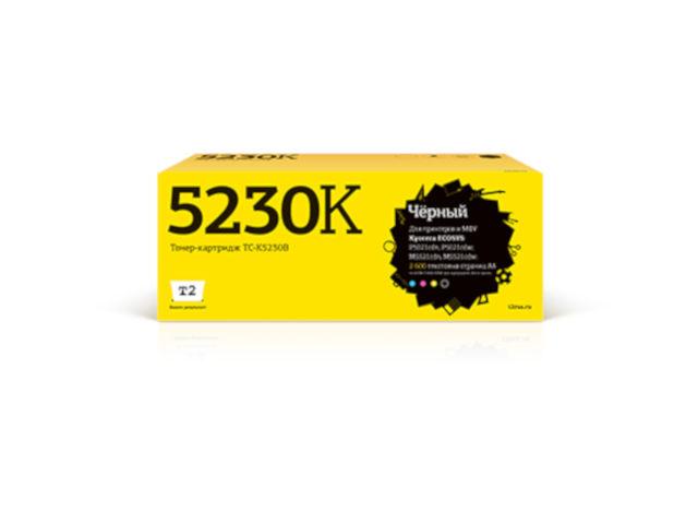 Картридж T2 TC-K5230B Black для Kyocera Ecosys M5521cdn/M5521cdw/P5021cdn/P5021cdw с чипом