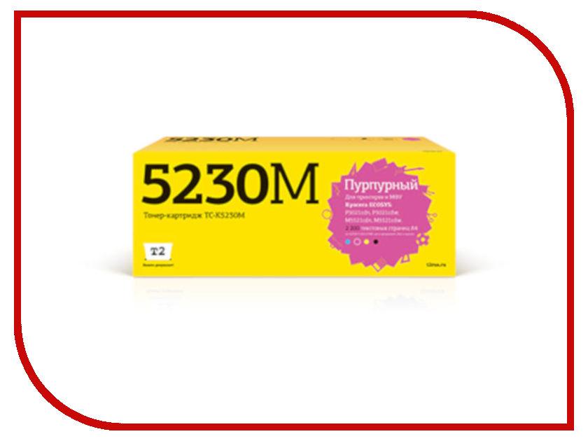 Картридж T2 TC-K5230M Magenta для Kyocera Ecosys M5521cdn/M5521cdw/P5021cdn/P5021cdw с чипом картридж t2 tc k580m magenta для kyocera fs c5150dn ecosys p6021cdn