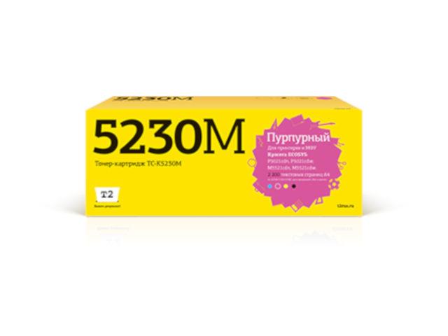 Фото - Картридж T2 TC-K5230M Magenta для Kyocera Ecosys M5521cdn/M5521cdw/P5021cdn/P5021cdw с чипом картридж t2 tc c718c cyan с чипом