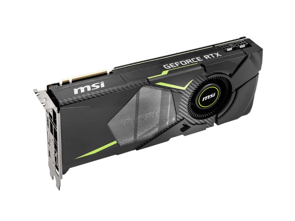 Видеокарта MSI GeForce RTX 2080 Aero 1515Mhz PCI-E 3.0 8192Mb 14Gbps 256 bit USB-C HDMI 3xDP AERO 8G