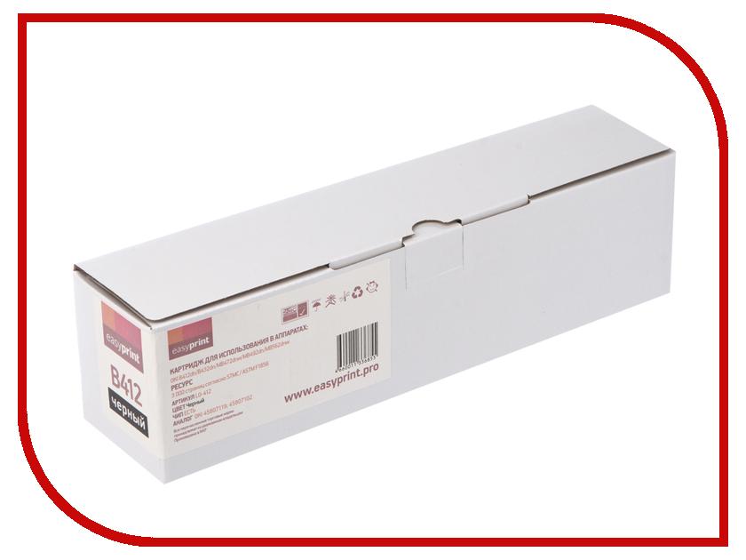 Картридж EasyPrint LO-412 для Oki B412dn/B432dn/MB472dnw/MB492dn/MB562dnw lo not equal пиджак