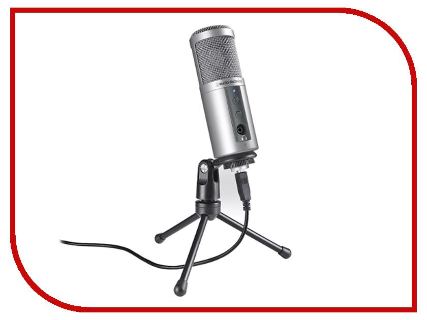 Микрофон Audio-Technica ATR2500 Silver USB микрофон blue microphones yeti usb