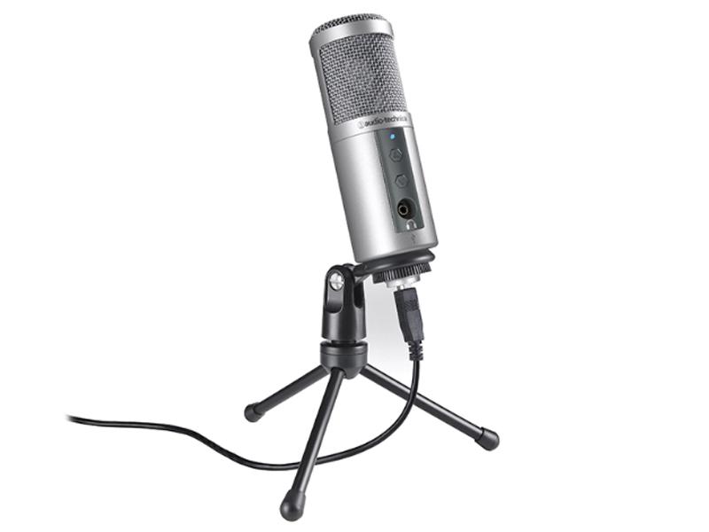 Микрофон Audio-Technica ATR2500 Silver USB