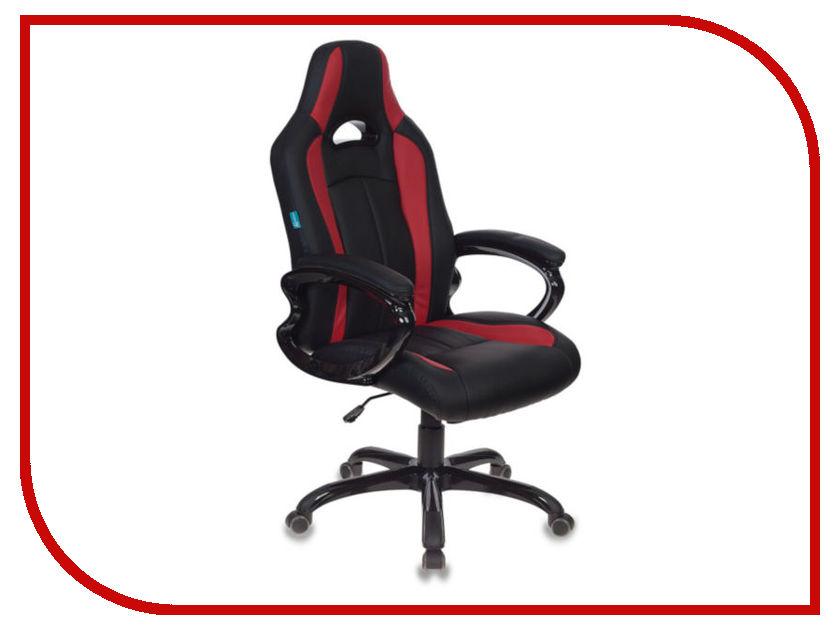 Компьютерное кресло Бюрократ CH-827/BL+RED Black-Red