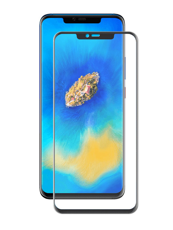 Аксессуар Защитное стекло Media Gadget для Huawei Mate 20 Pro 3D Full Cover Glass Black Frame MG3DGHM20PBK