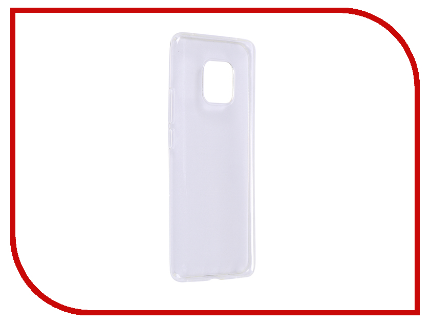 Аксессуар Чехол для Huawei Mate 20 Pro Media Gadget Essential Clear Cover Transperent ECCHM20PTR