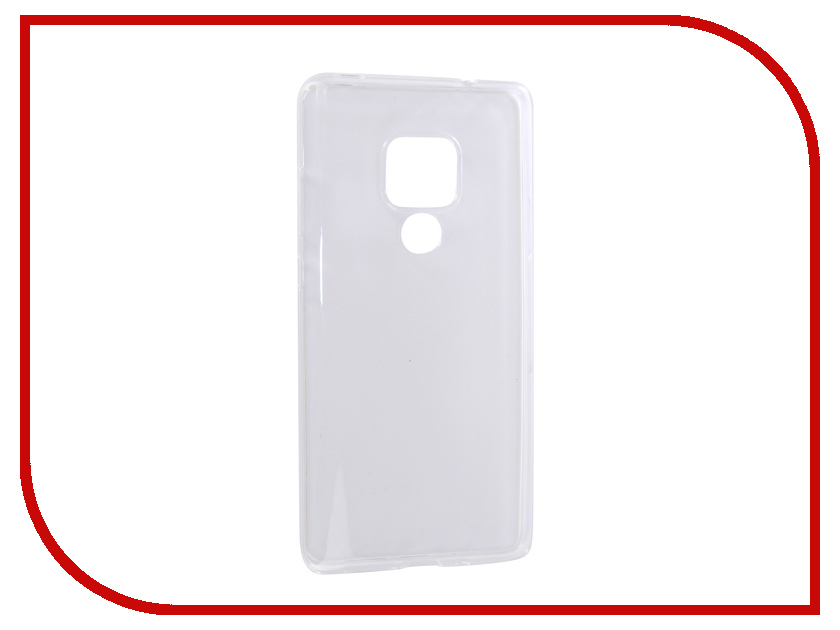 Аксессуар Чехол для Huawei Mate 20 Media Gadget Essential Clear Cover Transperent ECCHM20TR