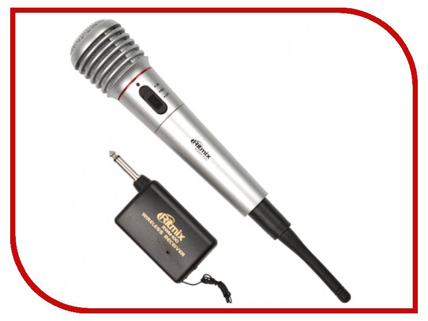 Микрофон Ritmix RWM-100 Titan rolsen rwm 100 для 15 27 черный
