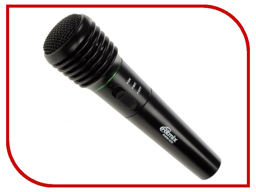 Микрофон Ritmix RWM-100 Black релаксан бриджи silver s m