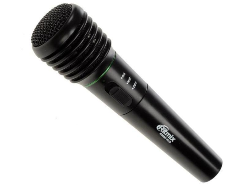 Микрофон Ritmix RWM-100 Black