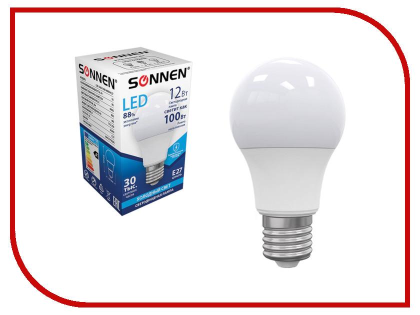 Лампочка Sonnen LED A60 12W 4000K E27 453698 цена