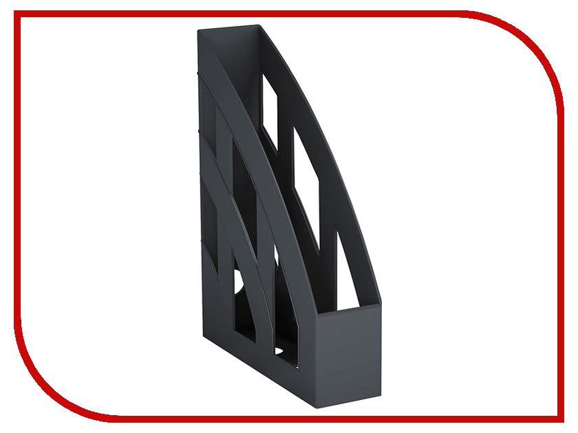 Вертикальный лоток для бумаг ErichKrause Basic Black 15119