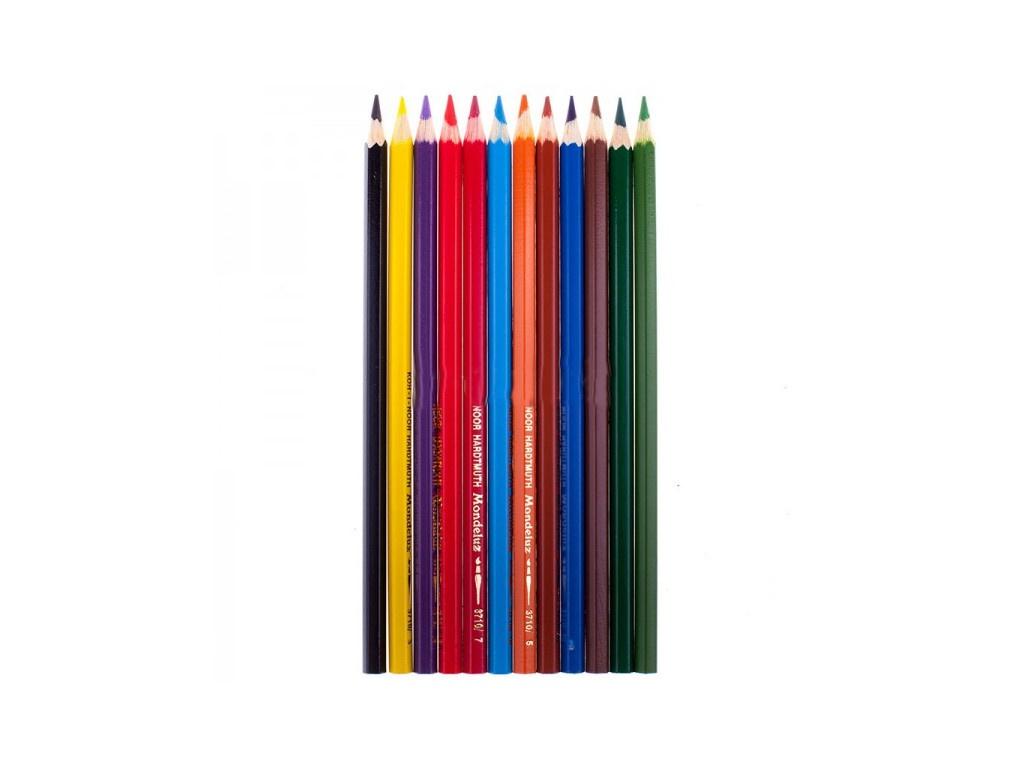 Карандаши цветные Koh-i-Noor Mondeluz 12 цветов Акварельные 3716012001KSRU