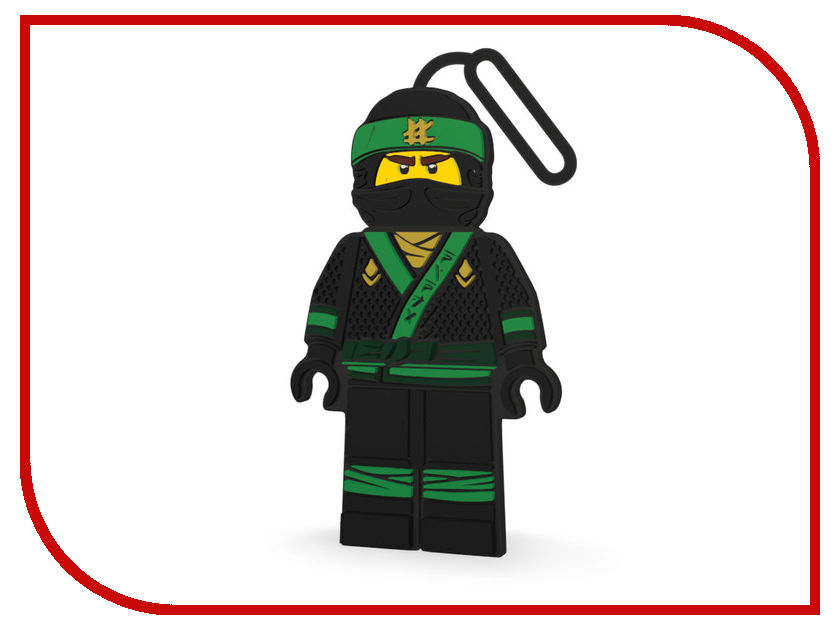 Брелок Lego Ninjago Movie Lloyd 51882 брелок lego lego 853635 брелок super heros женщина кошка