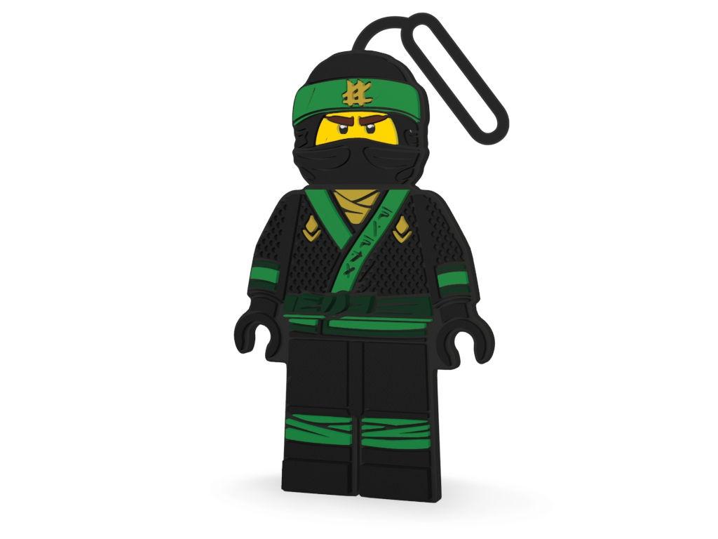 Брелок Lego Ninjago Movie Lloyd 51882 контейнер для ланча lego ninjago movie с ручкой зеленый