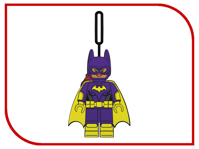 Брелок Lego Batman Movie Batgirl 51752 брелок lego lego 6139389 брелок friends миа