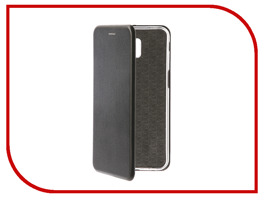 Аксессуар Чехол для Samsung Galaxy J6 Plus 2018 Onext Экокожа Black 70705 цена 2017