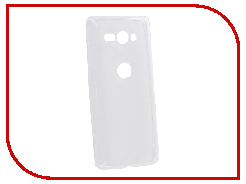 Аксессуар Чехол для Sony Xperia XZ2 Compact Onext Silicone Transparent 70573
